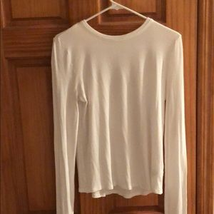 Nordstrom BP white long sleeve tee size XL womens